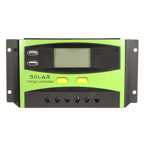20A 12V/24V Auto Wind Solar Energy Charge Controller LCD Display Home Improvement