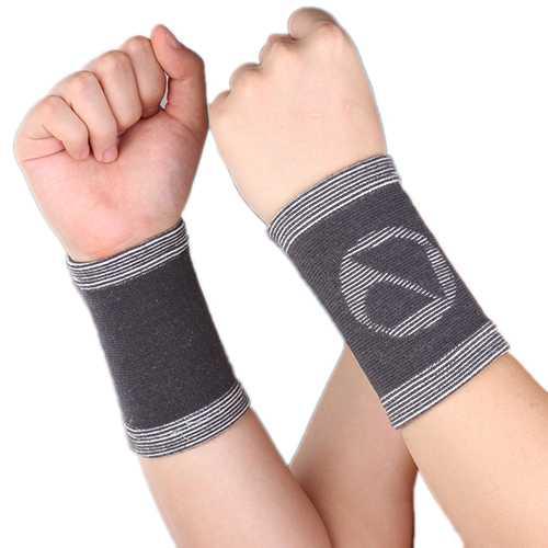 Mumian A31 Classic Bamboo Wrist Support Sports Wrist Sleeve Brace Pad - 1PC