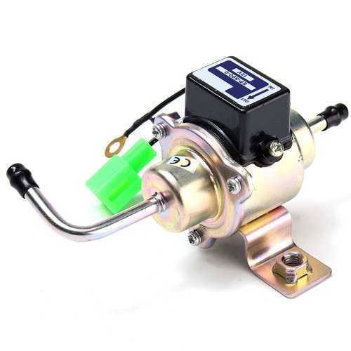 12V Universal Low Pressure Gas Diesel Electric Fuel Pump 1/4inch Tubing 3-5 PSI
