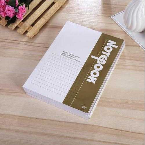 10pcs A5 Notebook Filler Papers office school supplies stationery note pad 30 Sheets Diary Note book
