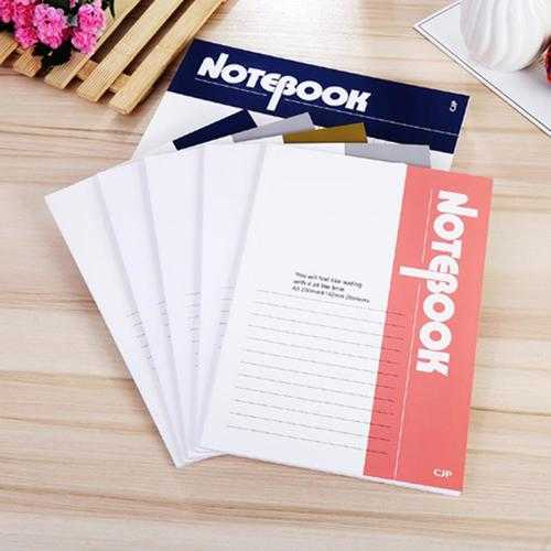 A5 Size Writing Journal Diary Notebook Daily Notepad 20 sheets 40 pages Write In With Lined Paper