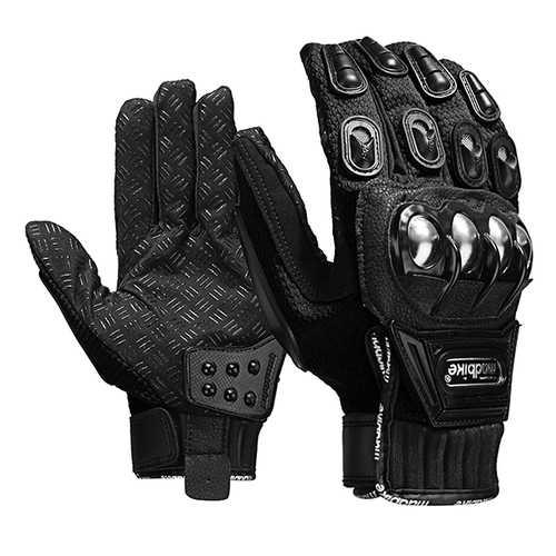 Alloy Steel Madbike Motorcycle Gloves Racing Motorbike Protective Gloves