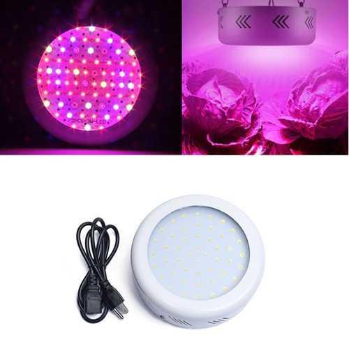 40W Full Spectrum UFO 50 LED Plant Light Indoor Hydroponics Grow Lamp for Vegetable Flower AC85-265V