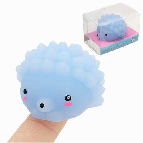 Hedgehog Mochi Squishy Squeeze Cute Healing Toy 4cm Kawaii Collection Stress Reliever Gift Decor
