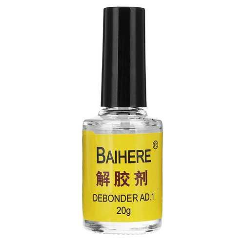 BAIHERE 20g Glue Debonder Remover Dispergator Cleaner for Instant Adhesive 502 Super Glue Nail Glue
