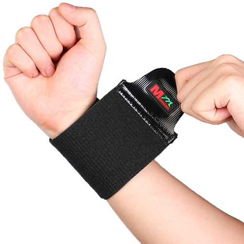 Mumian C03 Silicone Non-slip Massage Adjustable Sports Wrist Guard Protector - 1PC