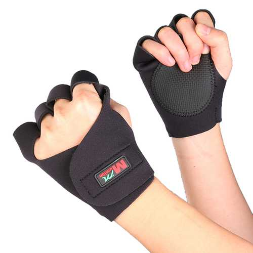 Mumian F01 Cycling Gym Fitness Training Half Finger Sports Gloves - 1 Pair