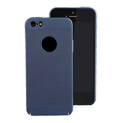 Mesh Heat Dissipation Anti Fingerprint Hard PC Case for iPhone 5/5S/SE