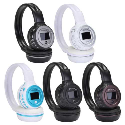 Foldable HiFi Wireless Bluetooth V4.0+EDR Stereo Headphone