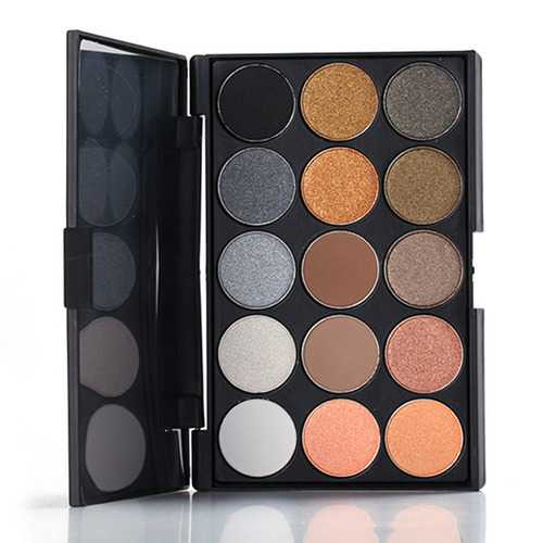 15 Colors Matte Shimmer Eye Shadow Palette