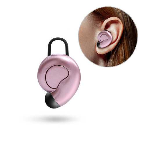 Caldecott S520 Mini Single Wireless bluetooth Earphone Stereo Bass Headphone for iPhone Samsung
