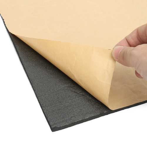 9 Sheets 40x30cm Sound Deadening Thermal Insulation Foam Sound-proofing Material