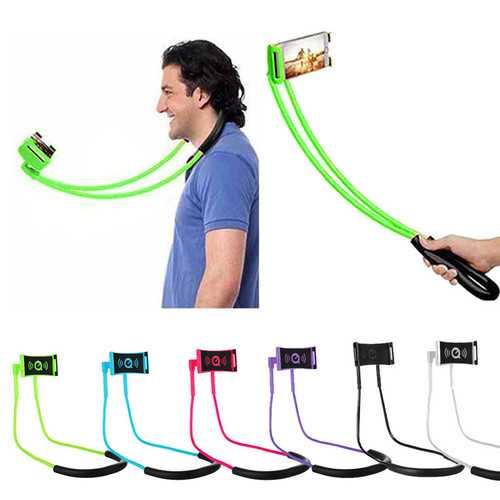 2.0 Upgrade Lengthen Neck Hanging Holder Phone Stand Lazy Holder Mobile Phone Bracket Mount