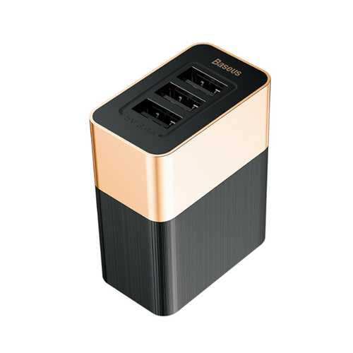 Baesus 3 Ports 3.4A Fast Travel Wall Charger US Plug For iPhone X 8Plus Oneplus 5t Xiaomi 6 Mi A1