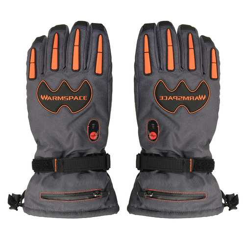 5600mAh Rechargeable Battery Electric Heated Hands Motorcycle Gloves Winter Warmer