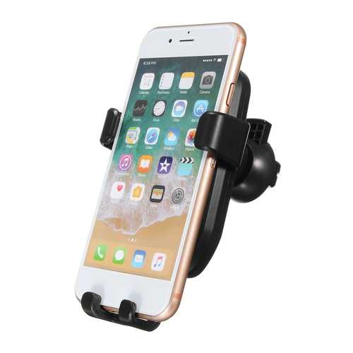 10W Qi Wireless Fast Car Air Vent Charger Holder Stand for iPhone X 8