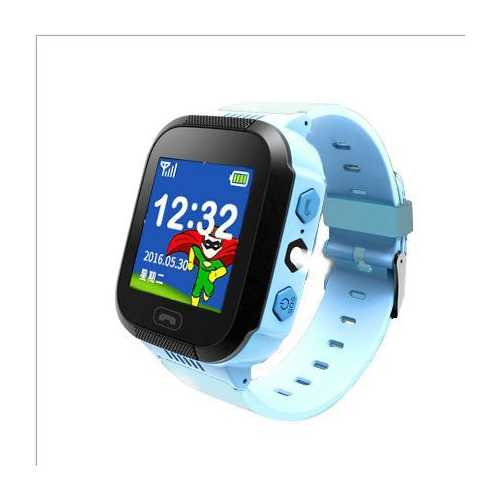 "Bakeey 1.44"" Touch Screen Voice Message Flashlight SOS Track Smart Kids Watch"