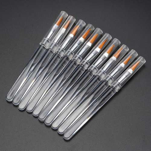 10pcs Lip Brush Makeup Brushes Cosmetics Tools Applicator