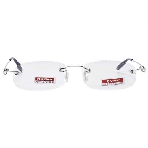 BRAODISON Rimless Frame Presbyopic Reading Glasses