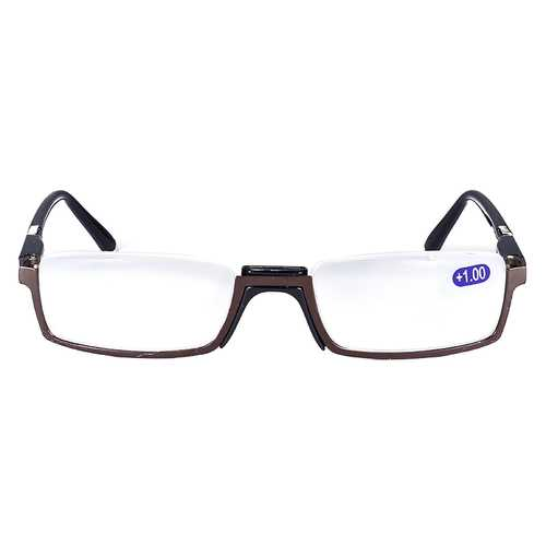 BROADISON Anti Fatigue Coated Film Reading Glasses HD