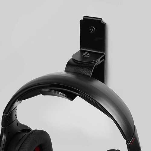 Multi-angle Fixed Screw Aluminum Alloy Headphone Holder Headset Hook Hanger Hook Headphone Stand