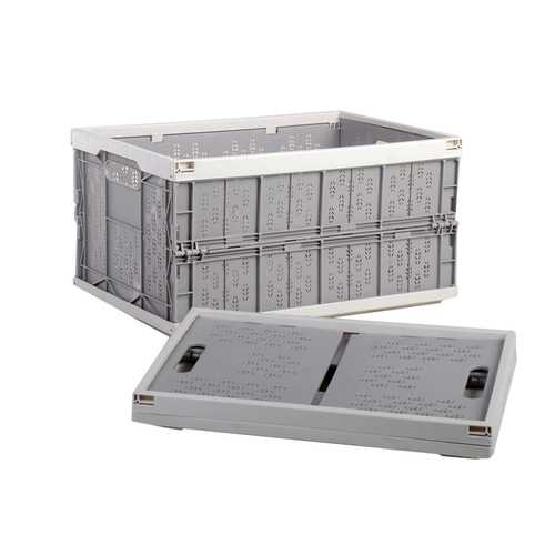 Household Car Foldable Heavy Duty Durable Plastic Storage Box Organizer Basket Water Bucket