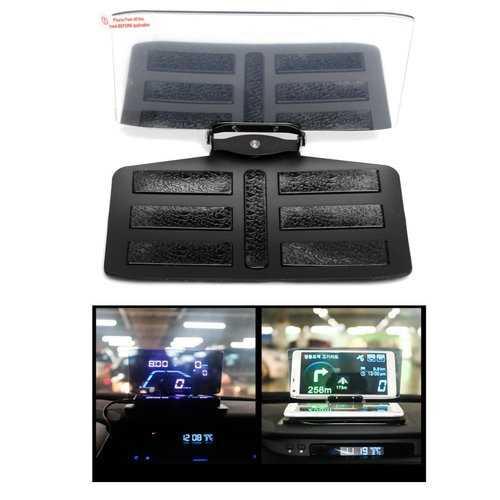 Car HUD GPS Navigation Mobile Phone Bracket Head Up Projector Holder Display