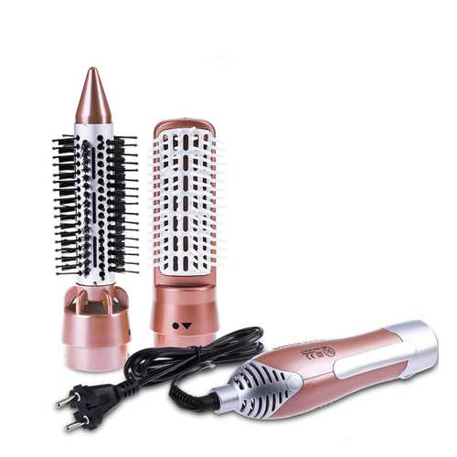 2 in 1 Multifunctional Professional Hair Dryer Comb Styling Tools Set