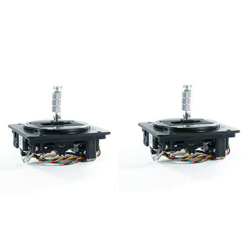 2 PCS Frsky M7-R High Sensitivity Hall Sensor Gimbal Support 45° Throttle for Q X7 Radio Transmitter