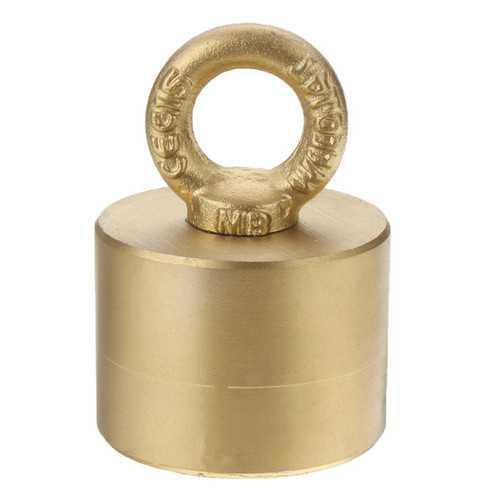 45mm x 25mm Neodymium Recovery Magnet 150kg Metal Detector for Treasure Hunting Fishing