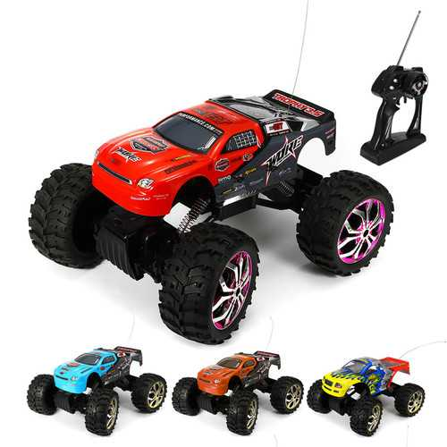NQD 1/10 Remote Control 4WD High Speed 40km/h Off Road Rock Crawler King RC Car Red Head 40MHz