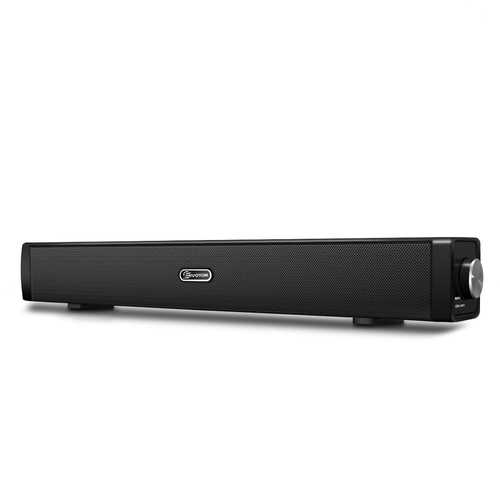 EIVOTOR 18'' USB Powered Mini Soundbar Speaker for Computer Desktop Laptop PC