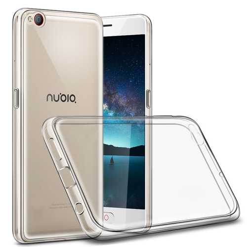 Bakeey Transparent Ultra Slim Soft TPU Protective Case For Nubia M2 Lite Global ROM
