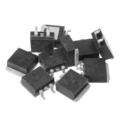 10Pcs 30F131 GT30F131 LCD Liquid Crystal Power Field Effect IC Chips
