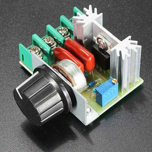 10Pcs 2000W Speed Controller SCR Voltage Regulator Dimming Dimmer Thermostat