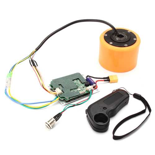 70mm or 83mm  Electric Skateboard Brushless Wheel Hub Motor with Controller