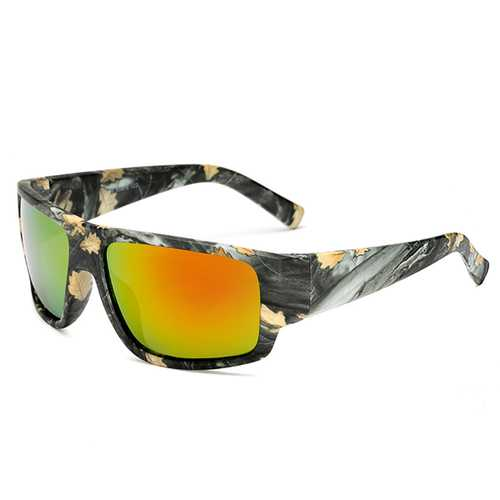 Men Outdooors Sport UV400 Camouflage Polarized Sunglasses