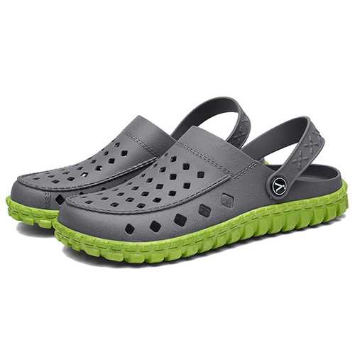 Men Breathable Waterproof Hollow Outs Beach Sandals
