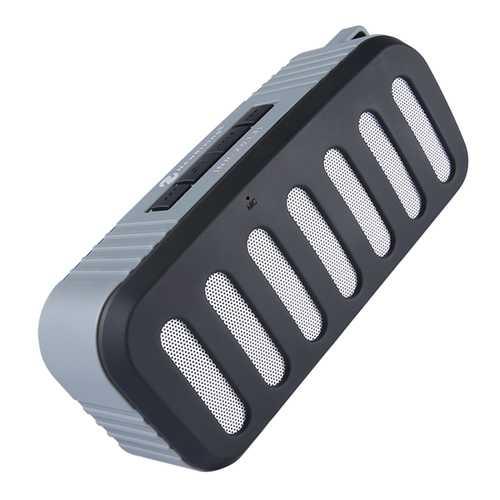 Outdoor Portable bluetooth Speaker IPX4 Waterproof Dustproof Dual Driver AUX TF Card Handsfree Call