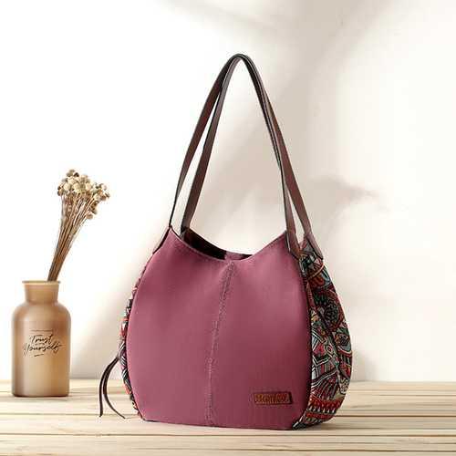 3 Main Bags Brenice Bohemia Canvas Floral Handbag