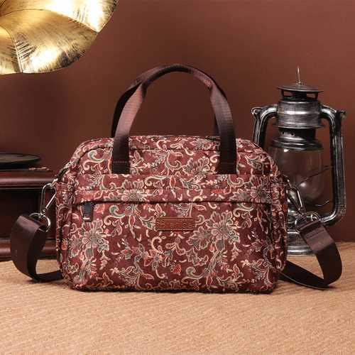 Brenice Multilayer Waterproof  Handbag Floral Shoulder Bag