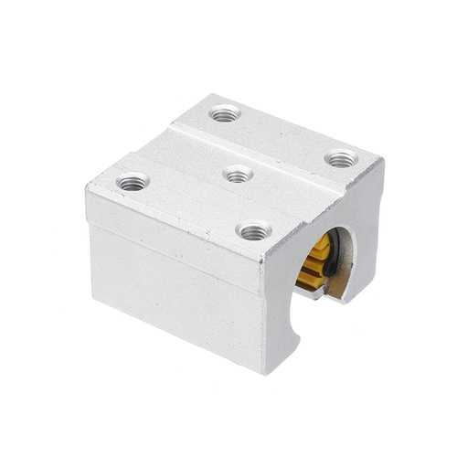 Machifit Solid Polymer SBR12UU 12mm Open Block Linear Bearing Slide CNC Router Linear Slide