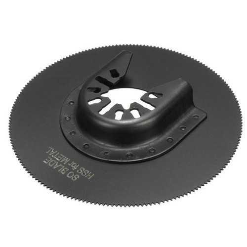 1011HK 80mm High Carbon Steel Full Circle Saw Blade Oscillating Multi Tool Oscillating Tools