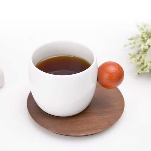 ZHIZAO 2Pcs Mihome Planet Cup Set with Cup Dish Kitchen Tea Cup Drinkware From Xiaomi Youpin