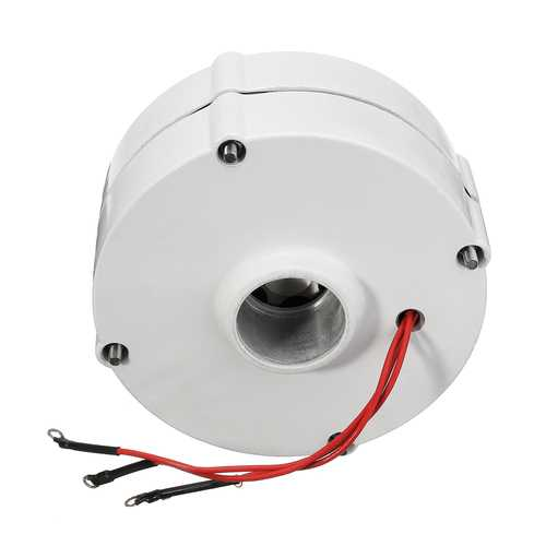 100W 12V 24V Three-phase Current PMSG Generator White For Wind Turbine