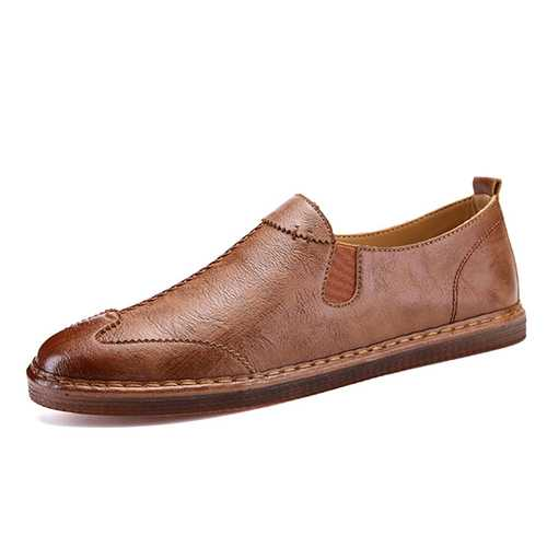 Banggood Shoes Men Casual Soft Genuine Leather Loafers
