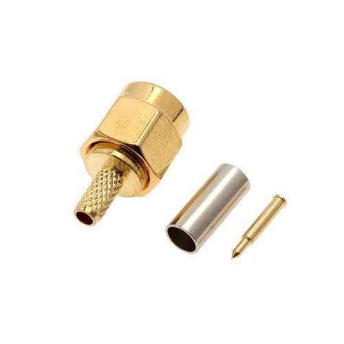 10 PCS SMA Male 50-1.5 RF connector For RG174 RG316 LMR100 Cable