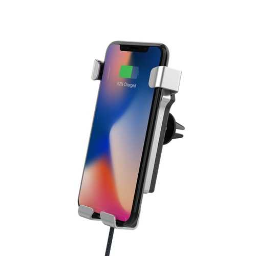 Bakeey LED Indicator Gravity Qi Wireless Car Charger For iPhone X 8Plus S9 S8+ Note 8