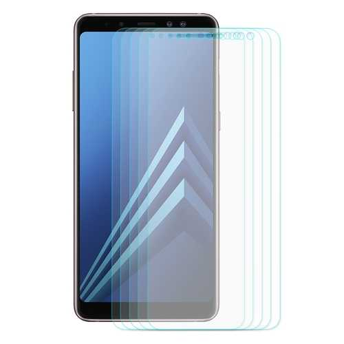 5 Packs Enkay 0.26mm 2.5D Curved Edge Tempered Glass Screen Protector For Samsung Galaxy A8 Plus 2018