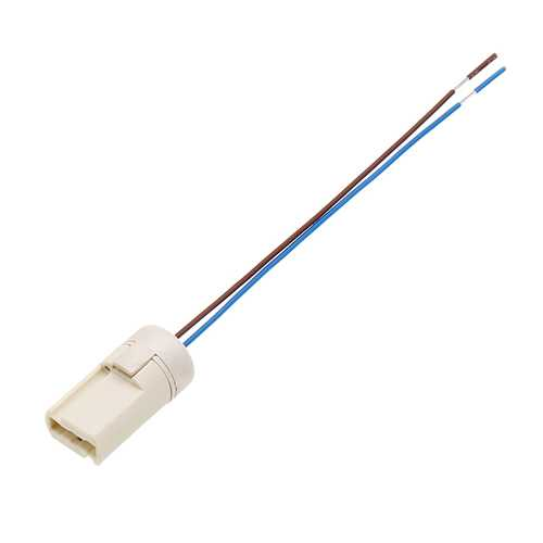 15CM G9 Base 3A Ceramic LED Lamp Holder Socket Wire with Plastic Back Cover AC250V